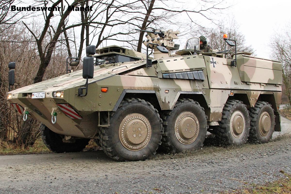 Laser Entfernungsmesser Bundeswehr : Bilder: truppentransporter gtk boxer bilder autobild.de