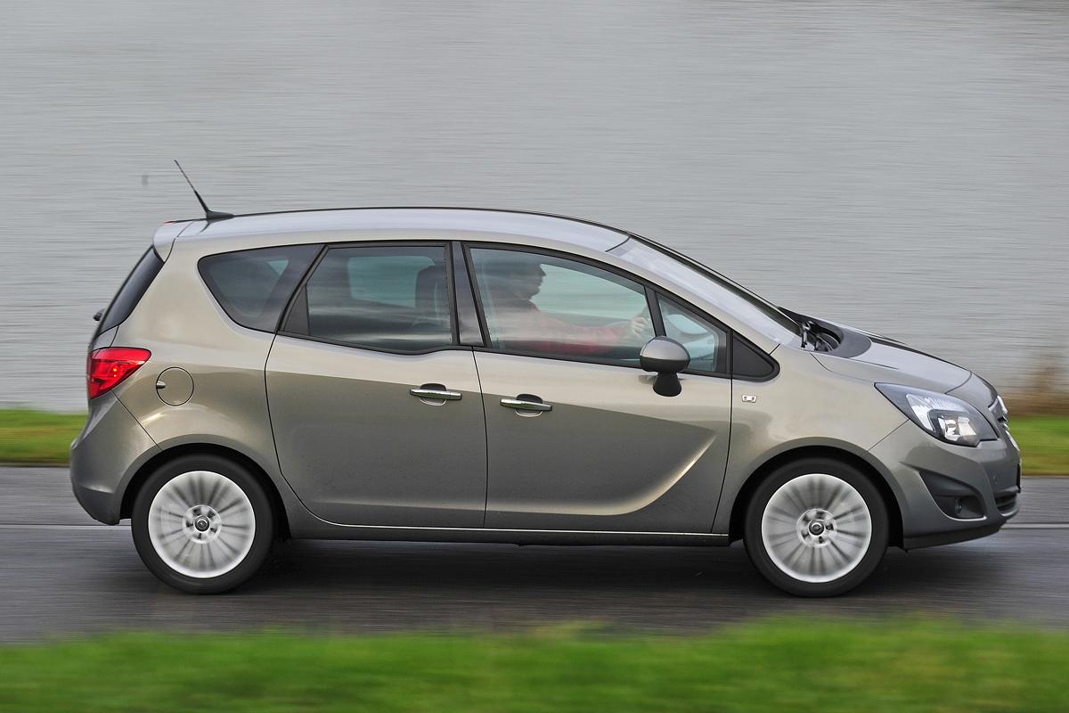Türen-Test Opel Meriva