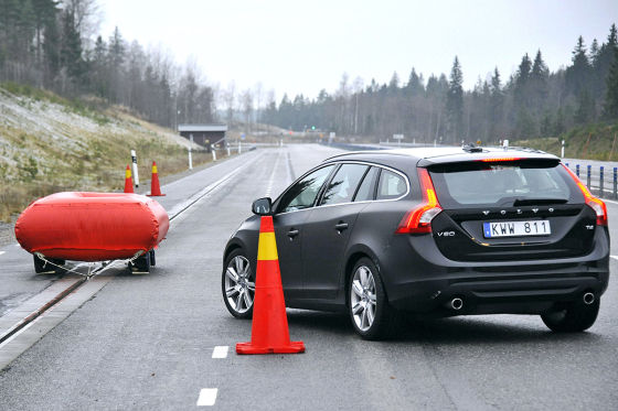 Volvo Kreuzungs-Assistent im Test