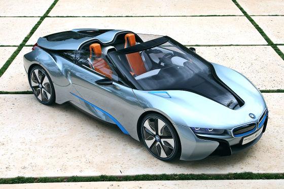 bmw i8 concept spyder leichtbau roadster mit. Black Bedroom Furniture Sets. Home Design Ideas