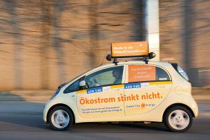 i-MiEV als Taxi