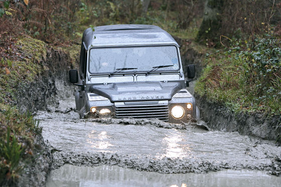 Land Rover-Fahrtraining Eastnor Castle