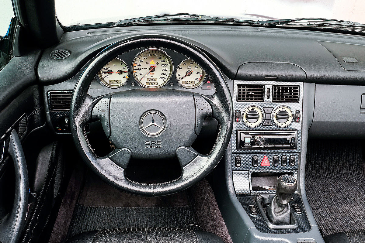 Bilder: Mercedes SLK (R 170) im Test