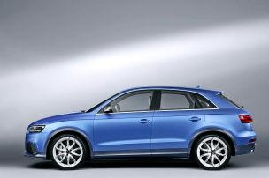 Audi macht blau