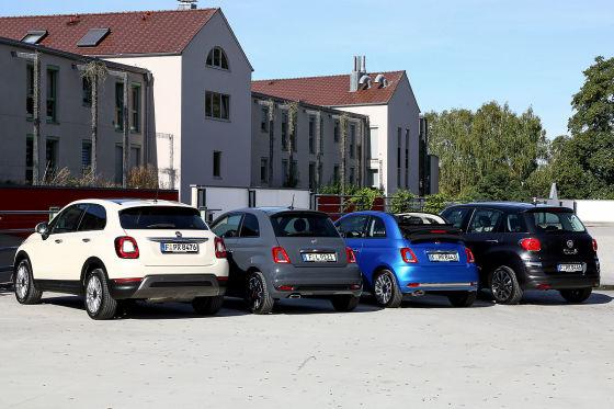 Fiat 500 C, Fiat 500 L, Fiat 500, Fiat 500 X