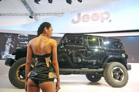 Jeep Wrangler Dragon: Peking 2012 - autobild.de