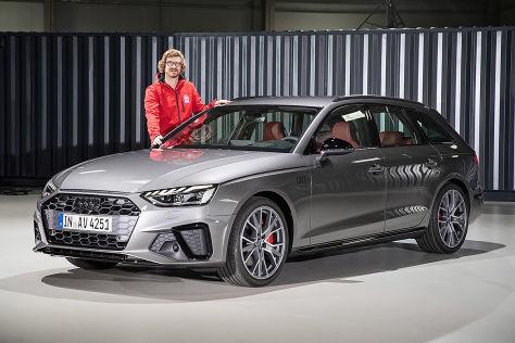 New 2019 Audi A4 Quatro Avant Facelift Vs Old 2017 Audi A4 Quatro Avant