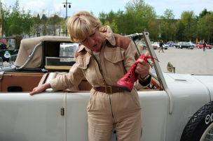 Heidi Hetzers Schuh