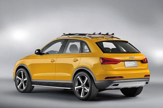"Audi Q3 jinlong yufeng, ""Goldener Drache im Wind"""