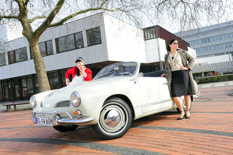 beliebter klassiker vw karmann ghia typ  cabrio autobildde