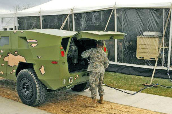 US Army Tardec FED Bravo