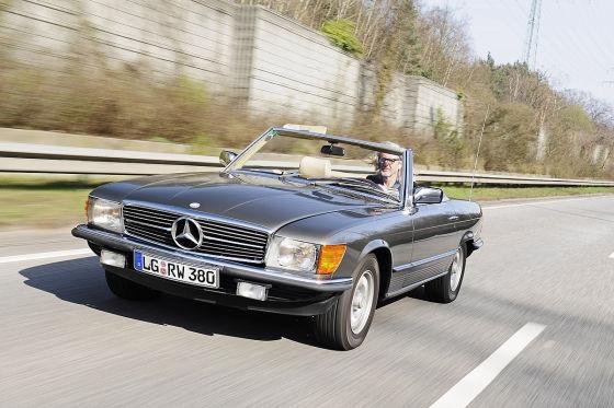 Mercedes 380 SL R 107