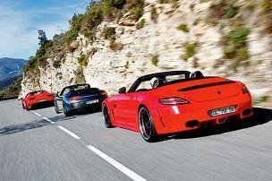 Drei Super-Cabrios in Bestform