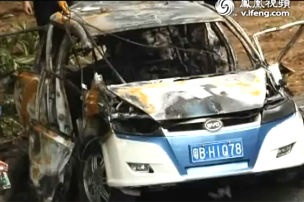 Elektro-Taxi in den Tod