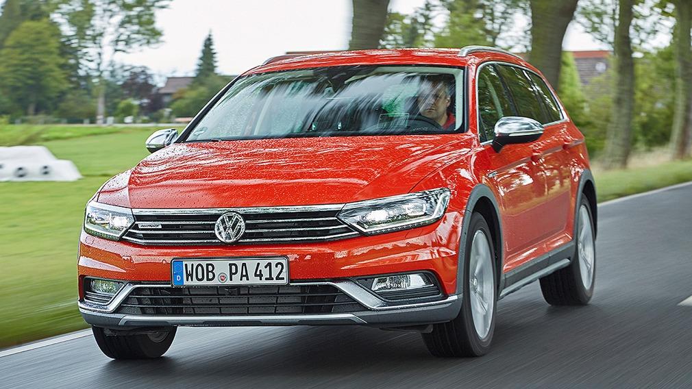 VW Passat Alltrack B8 © Christoph Börries / AUTO BILD
