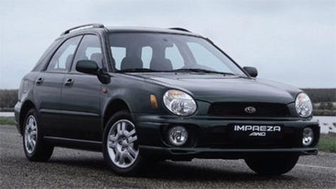 Subaru Impreza II (GD)