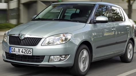 Škoda Fabia II (5J)