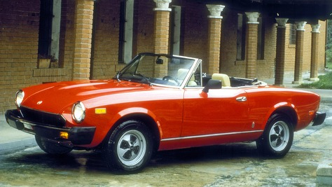 Fiat 124 Spider I