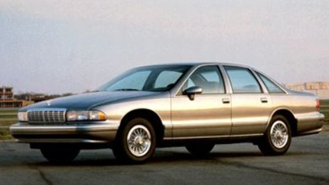 Chevrolet Caprice Serie 1B ´91