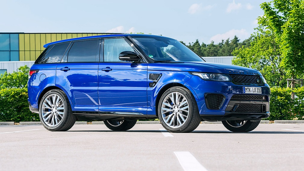 Range Rover Sport SVR Range Rover Sport SVR © Ronald Sassen