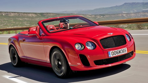 Bentley Continental Supersports Bentley Continental Supersports