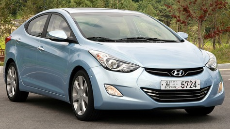 Hyundai Elantra MD/UD