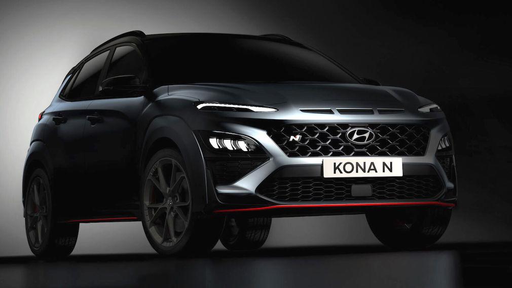 Hyundai Kona N Hyundai Kona N © Hyundai Motors