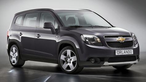 Chevrolet Orlando Chevrolet Orlando