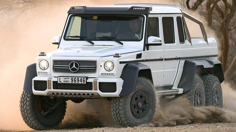 Mercedes G 63 AMG 6x6 Mercedes G 63 AMG 6x6