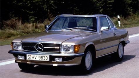 Mercedes SL R 107
