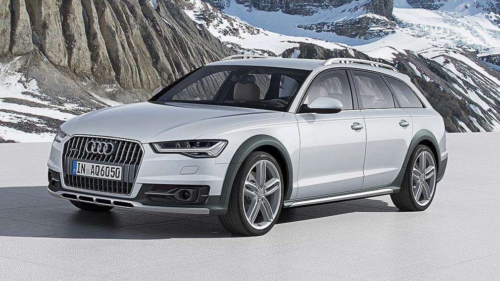 Audi A6 allroad quattro C7 © Werk