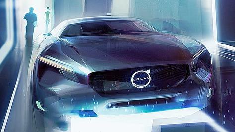 Volvo E-Auto Volvo E-Auto