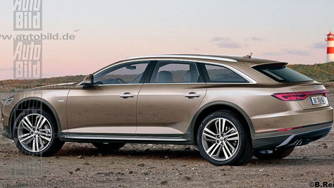 Audi A6 allroad quattro C8
