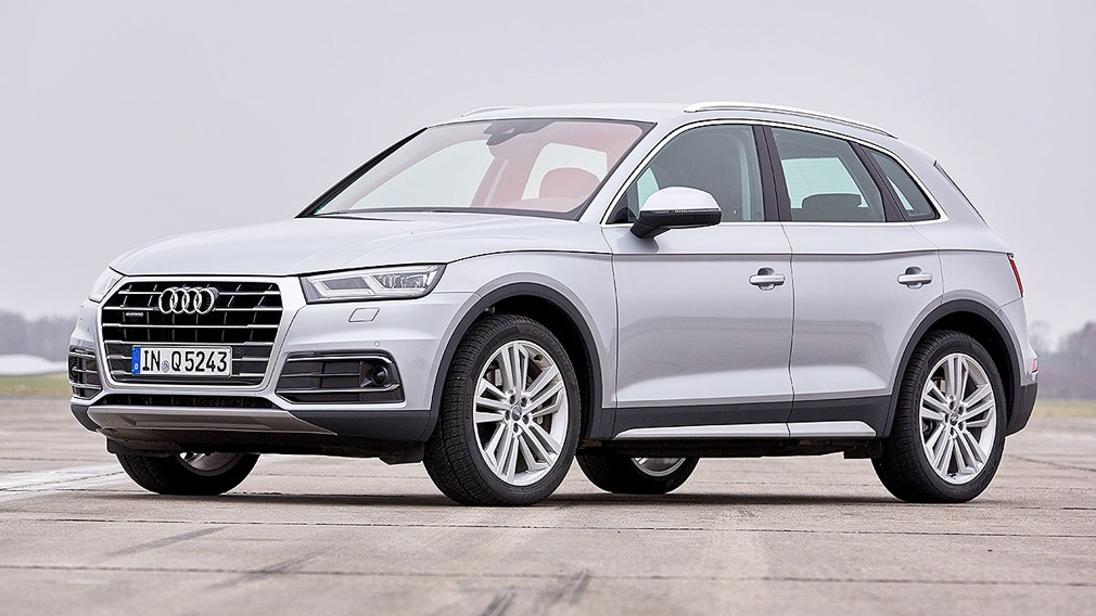 Audi Q5 II © Christoph Börries