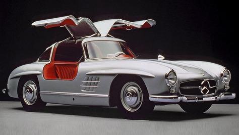 Mercedes SL W 198