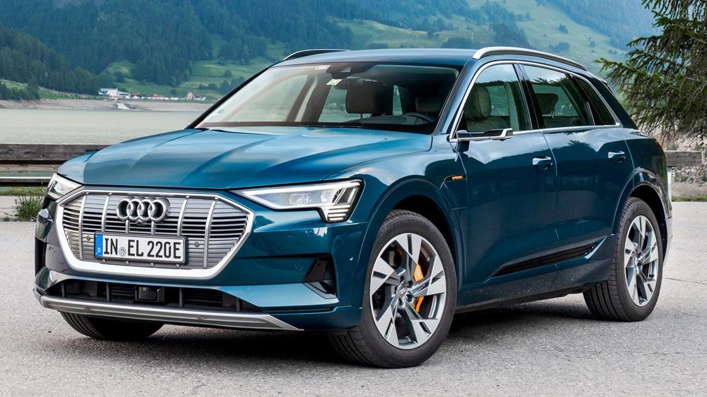 Audi e-tron Audi e-tron © Werk
