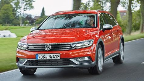 VW Passat Alltrack © Christoph Börries / AUTO BILD