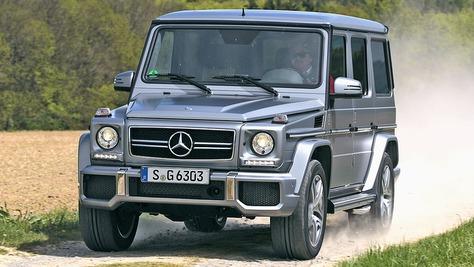 mercedes-amg g-klasse - autobild.de