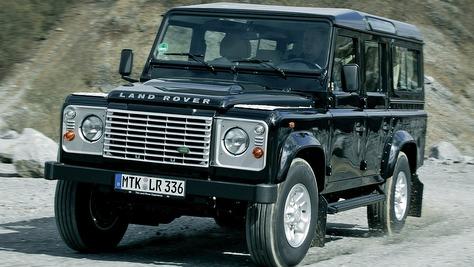 Range Rover Vs Land Rover >> Land Rover Defender - autobild.de