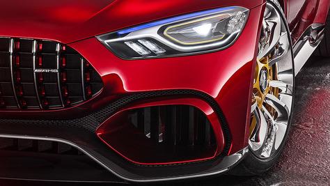 Zukünftige Mercedes-AMG
