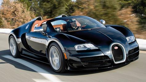 bugatti veyron 16.4 grand sport - autobild.de