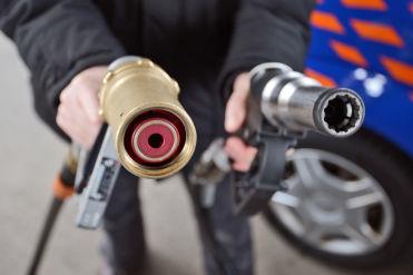 Mit Gas fahren spart Geld